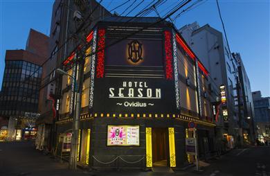 歌舞伎町のラブホ