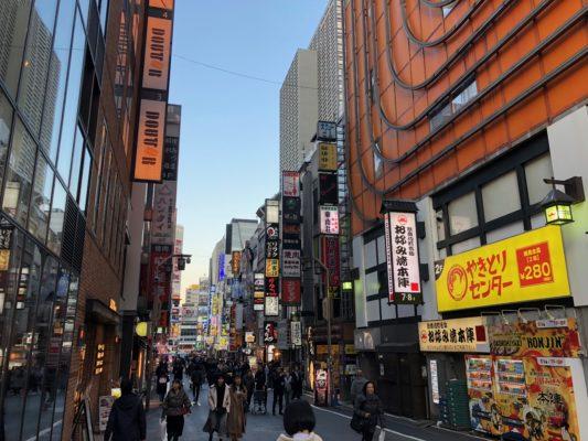 歌舞伎町周辺